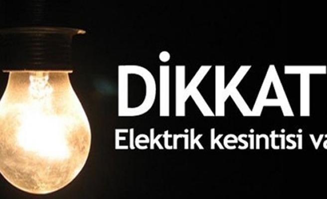 Başpınar bölgesinde elektrik kesintisi