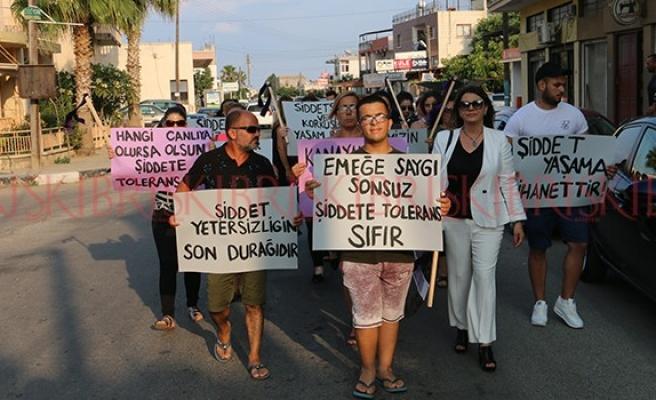 'Şiddet bizi susturamaz, susturamayacak'