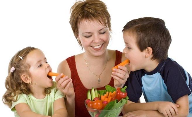 Çocuklar ve beslenme diyeti