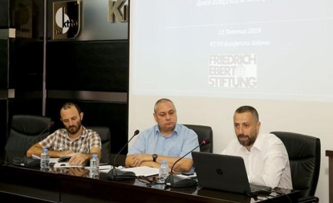 2017 Kuzey Kıbrıs Yolsuzluk Algı Raporu açıklandı