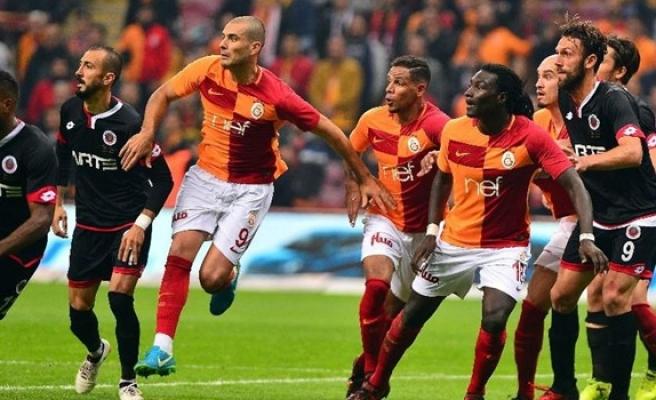 Galatasaray'dan 5 gollü galibiyet