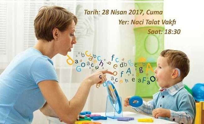 KİKEV'in dil ve konuşma terapisi eğitimleri tanıtılıyor