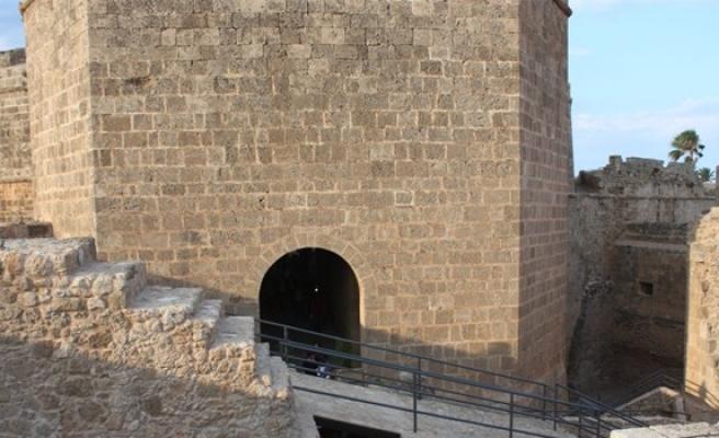Gazimağusa'da Akkule/Kara Kapısı'nın konzervasyon çalışması tamamlandı