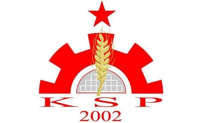KSP: Birlikte, omuz omuza emperyalist boyunduruğa karşı mücadeleye!