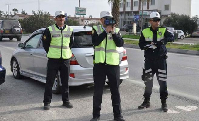 Trafikte son bir haftada 619 suç işlendi