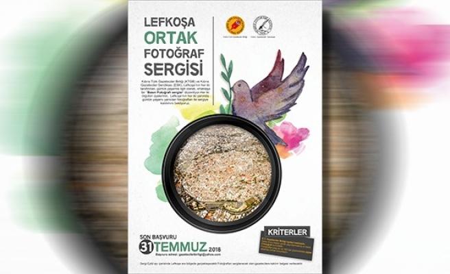 Ortak 'basın fotoğrafı' sergisi için son başvuru tarihi 31 Temmuz