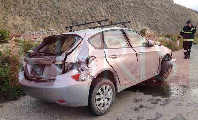 İngiliz sürücü hafif yaralandı