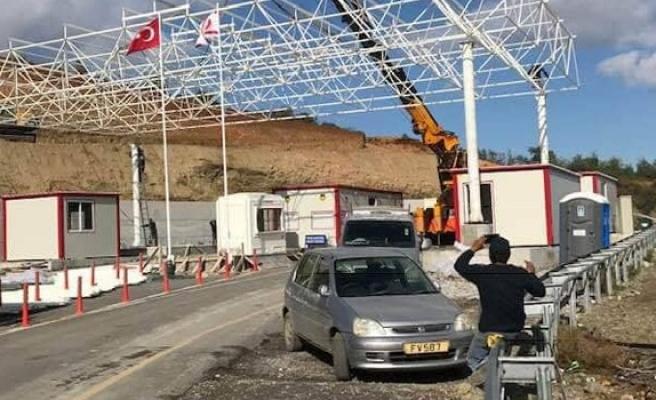 Aplıç Sınır Kapısı yarın 11:00-12:30 arası geçişlere kapatılacak