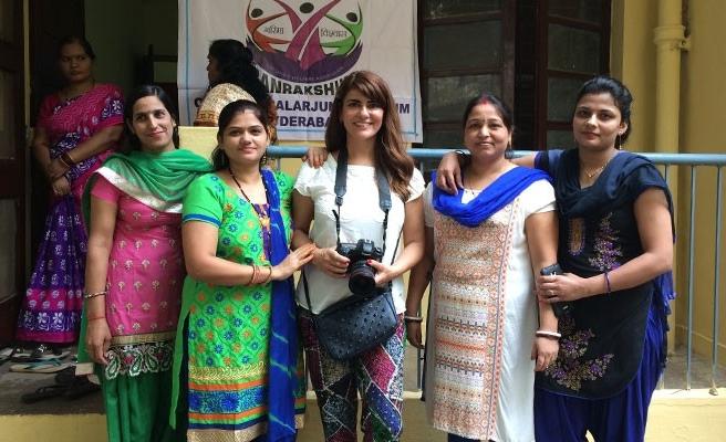 Buket Özatay, Hindistan'daki Fotoğraf Festivali'ndeydi