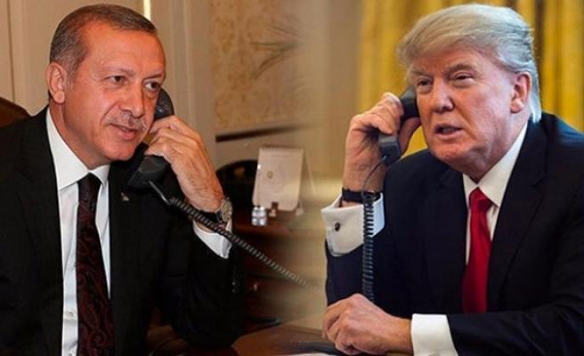 Erdoğan ABD Başkanı Trump ile görüştü