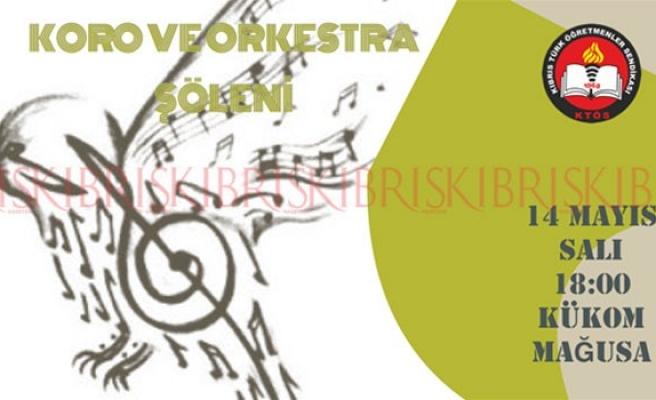 KTÖS Yarın Koro ve Orkestra Şöleni düzenliyor