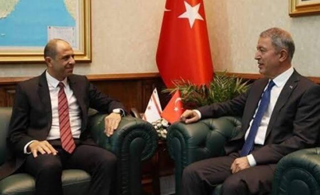 Özersay, Türkiye Milli Savunma Bakanı Akar ile görüşecek