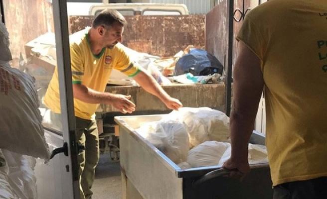 5 bin 200 kilo süt ürünü imha edildi
