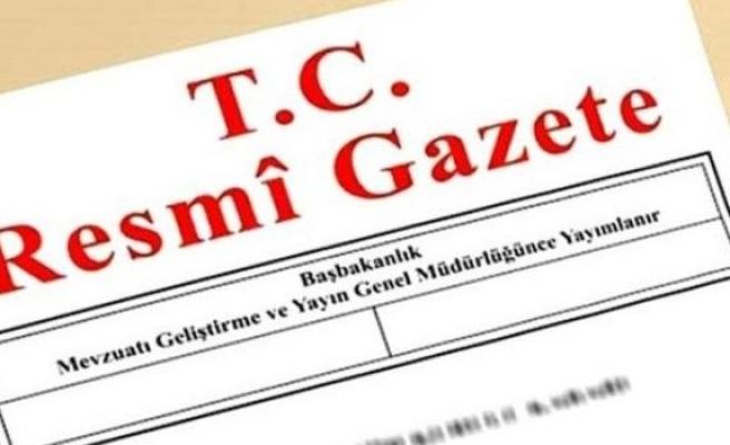 Başçeri'nin Lefkoşa Büyükelçiliğine atandığı Resmi Gazete'de yayınlandı
