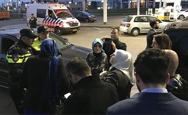 Hollanda, Kaya'nın konvoyunu Almanya'ya geri yolladı