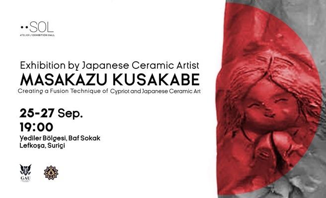 Japon seramik sanatçısı Kusakabe'in eserleri sergilenecek