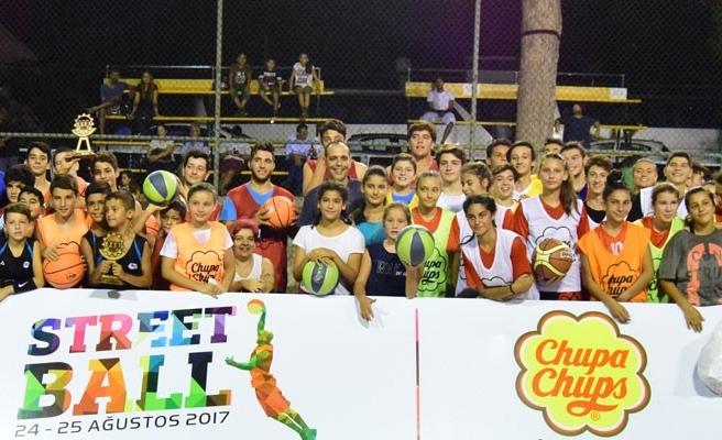 Sokak basketbolu turnuvası tamamlandı