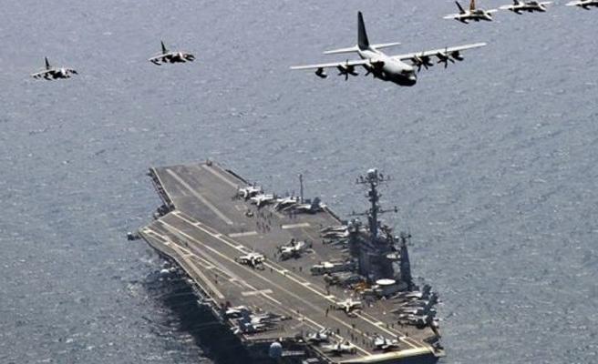 ABD ve Güney Kore ortak askeri tatbikata başladı