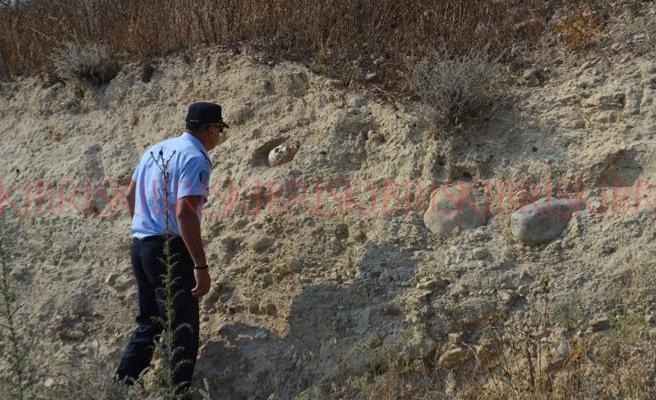 Avtepe'de esrarengiz kafatası