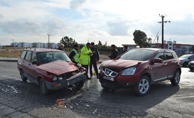 Kazada yaralanan olmaması sevindirdi