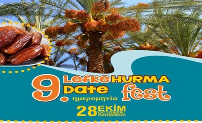 Lefke'de bugün hurma festivali var