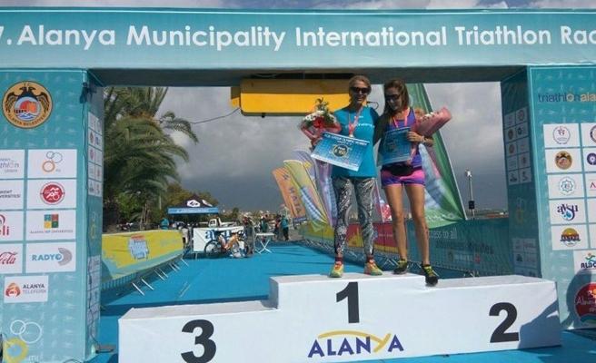 LTB sporcusu Işık, Uluslararası Alanya Triathlon Yarışı'nda birinci oldu