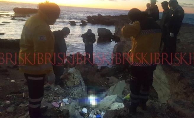 Karpaz sahilinde kimliği meçhul erkek cesedi bulundu