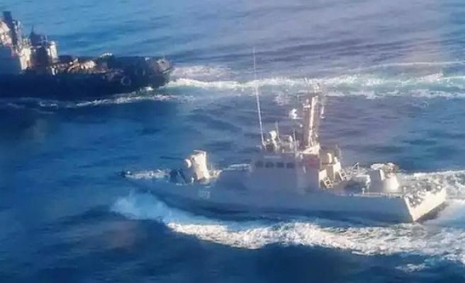 Rusya, Ukrayna gemilerine ateş açıldığını doğruladı