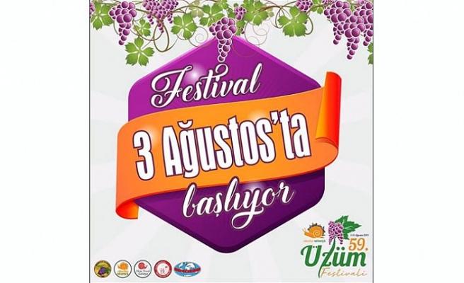 Mehmetçik Üzüm Festivali yarın başlıyor