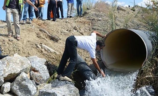 Yeniceköy ve DAÜ depolarına su verilemiyor