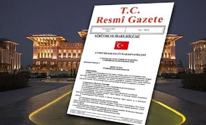 TC Cumhurbaşkanlığı Başdanışmanlığı'na yeni isimler