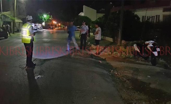 Mağusa'da motor kazası: 1 kişi ağır yaralı