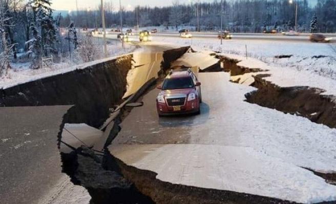 Alaska Eyaletinde 7,0 şiddetinde deprem meydana geldi