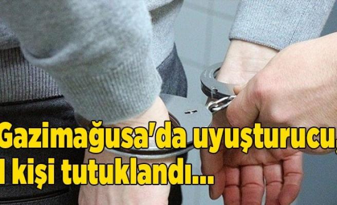 Gazimağusa'da uyuşturucu, 1 kişi tutuklandı