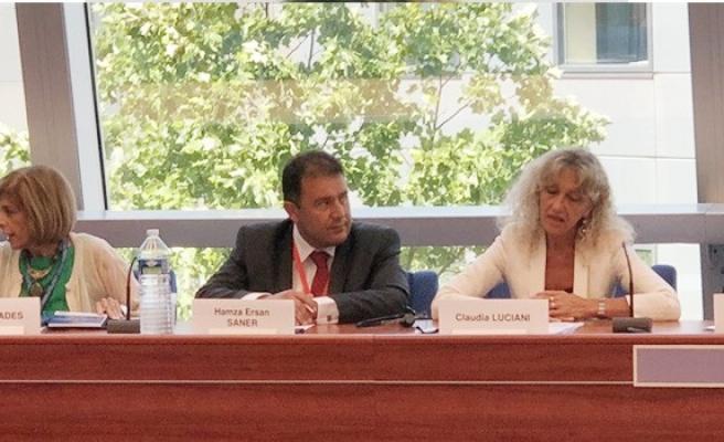Saner ve Candan, AKPA Genel Kurulu oturumlarına katıldı