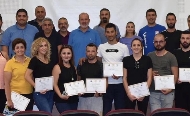 Spor eğitimi semineri tamamlandı