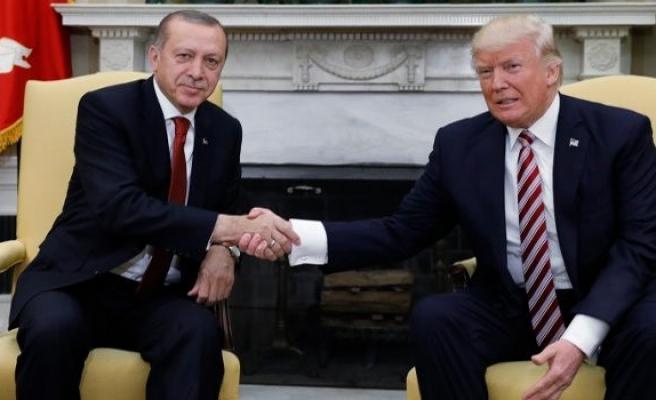 Erdoğan Trump görüşmesi