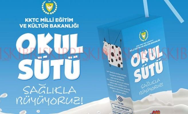 'Okul Sütü' yarından itibaren tüm okullarda!