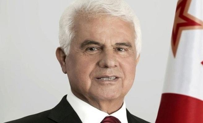 Eroğlu, UBP'nin yıldönümü dolayısıyla mesaj yayımladı