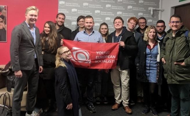 CTP Gençlik Örgütü Avrupalı Genç Sosyalistler Başkanlık Konseyi'ne katıldı