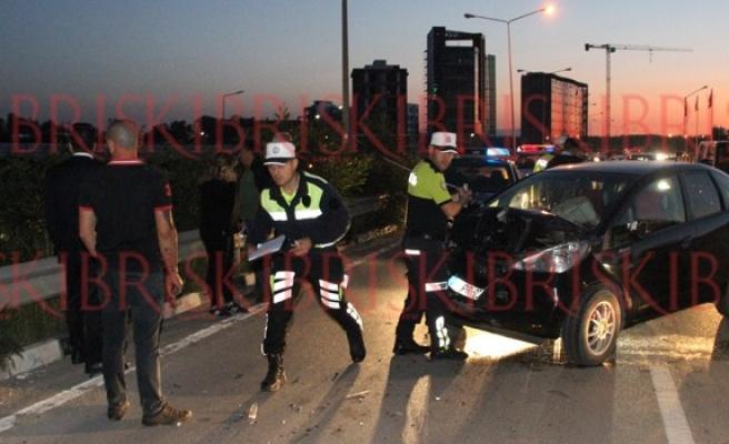 '153 promil' alkollü sürücü 2 kaza birden yaptı