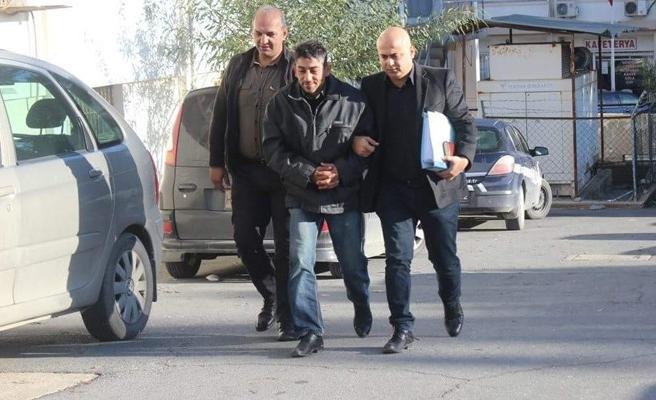 Gergin, Lefkoşa'da tespit edilip tutuklandı
