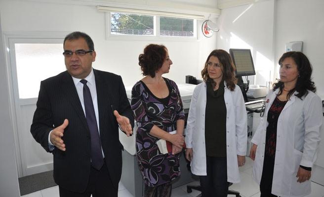 Sucuoğlu, Trenyolu Polikliniği'nde incelemede bulundu