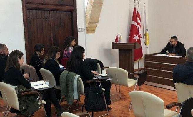 Belediyeler ile hazırlık toplantısı yapıldı