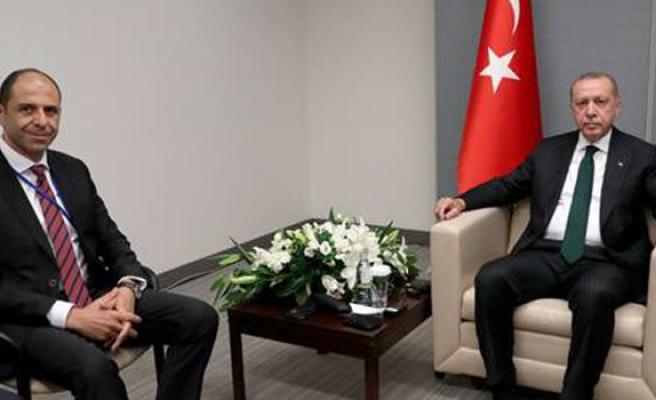TC Cumhurbaşkanı Erdoğan, Özersay'ı kabul etti