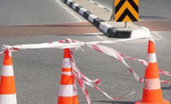 Kılıçaslan- Kalkanlı arasındaki yol trafiğe kapalı