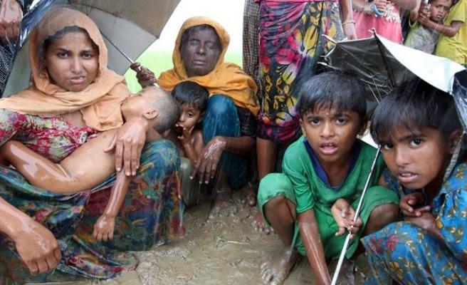Arakanlı Müslümanlar Bangladeş sınırında yaşam mücadelesi veriyor