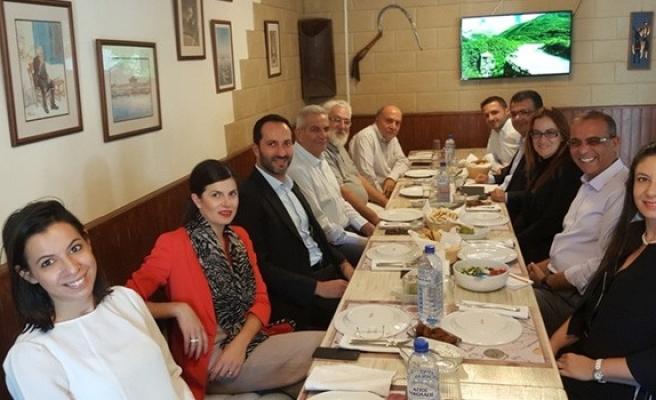 CTP Kıbrıs çalışma grubu, Kiprianu ve heyetiyle bir araya geldi