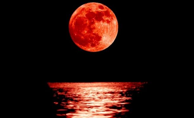 'Kanlı Ay' tutulması bugün