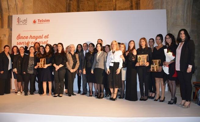 Başarılı kadın girişimciler ödüllendirildi